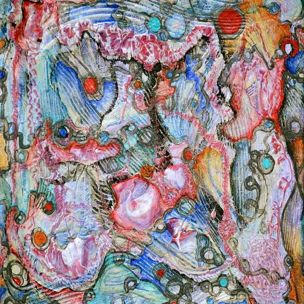 Painting - Percolation Threshold by Regina Valluzzi