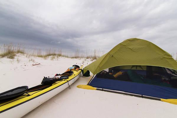 Photograph - Perdido Key Kayak Camp by Paul Rebmann