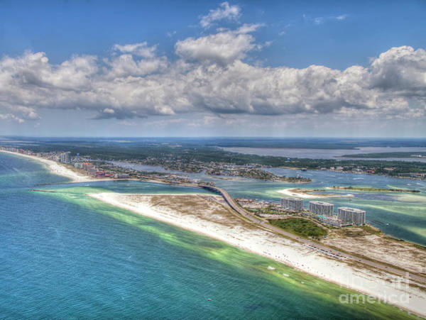 Photograph - Perdido Pass Aerial 3029 by Gulf Coast Aerials -