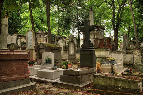 Photograph - Pere Lachaise Cemetery 001 by Lance Vaughn