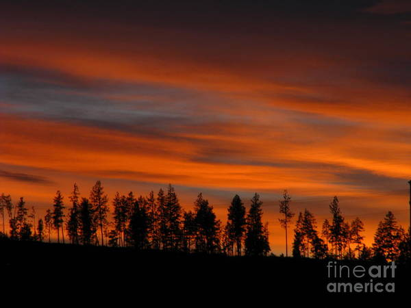 Patzer Photograph - Perfect Evening by Greg Patzer