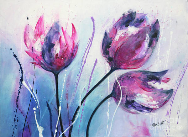 Wall Art - Painting - Perfect Imperfection by Jutta Maria Pusl