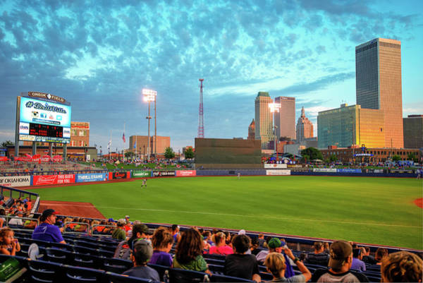 Photograph - Oneok Stadium - Tulsa Drillers Stadium View by Gregory Ballos