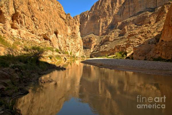 Photograph - Perfect Reflections At Boquillas by Adam Jewell