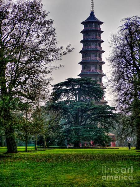 Photograph - Pergoda Kew Gardens by Lance Sheridan-Peel