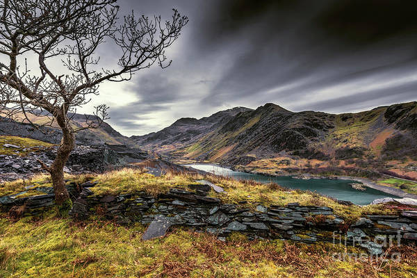 Wall Art - Photograph - Peris Lake Snowdonia by Adrian Evans