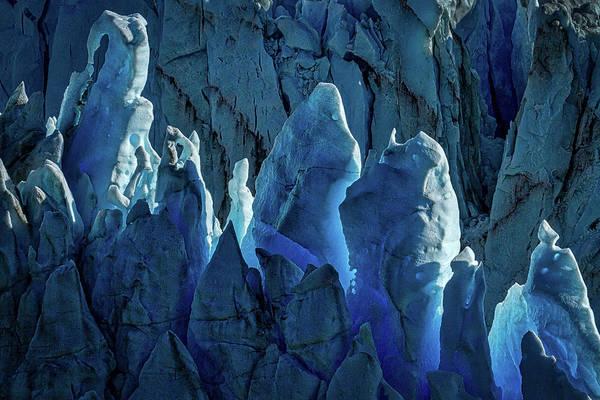 Photograph - Perito Moreno Glacier Details #3 - Patagonia by Stuart Litoff