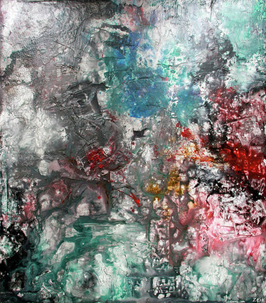 David Choe Painting - Permanent Intervals by Bobby Zeik