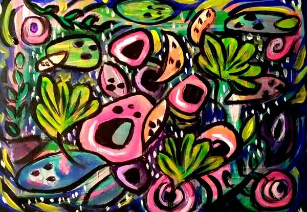 Painting - Perpetual Garden 1 by Nikki Dalton