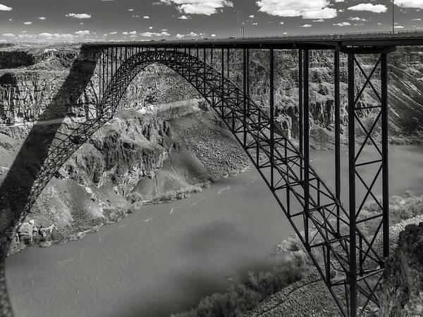 Perrine Bridge, Twin Falls, Idaho Art Print