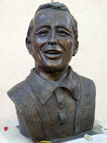 Perry Como Bust Art Print