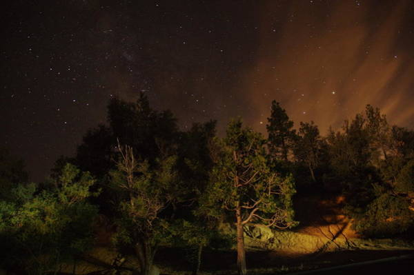Photograph - Perseid Meteor Glow A by Phyllis Spoor