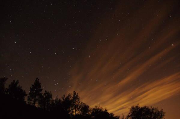 Photograph - Perseid Meteor Glow D by Phyllis Spoor