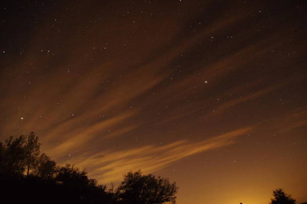Photograph - Perseid Shower Glow C by Phyllis Spoor