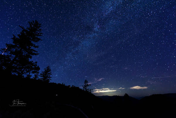 Photograph - Perseids Meteor Shower 2 by Jim Thompson