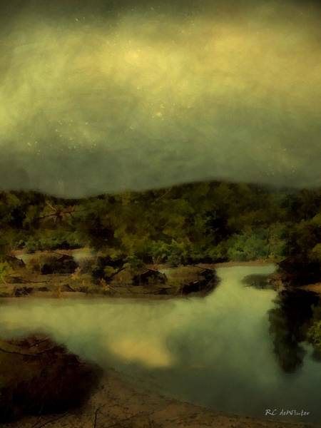 Painting - Perseids Passing by RC deWinter