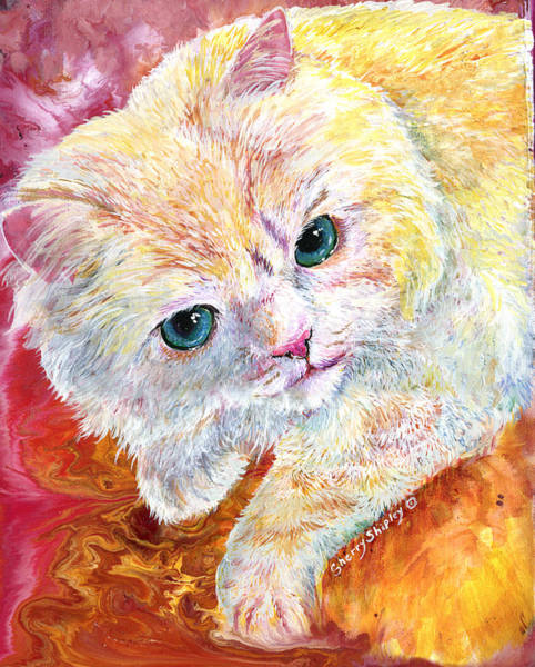 Painting - Persian Play by Sherry Shipley