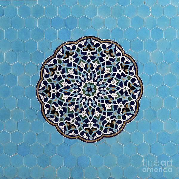 Wall Art - Photograph - Persian Tiles, Iran by Babak Tafreshi