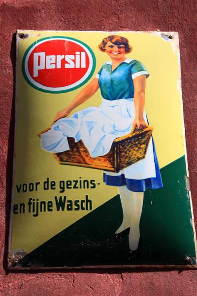 Photograph - Persil Advertising Sign by Aidan Moran
