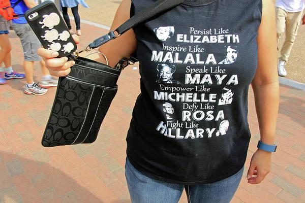 Hillary Clinton Photograph - Persist Like Inspire Like Speak Like Empower Like Defy Like Fight Like by Cora Wandel