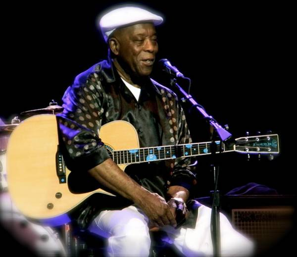 Photograph - Personal Touch  Buddy Guy by Iconic Images Art Gallery David Pucciarelli