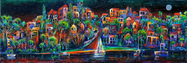 Painting - Perth By Night by Jeremy Holton