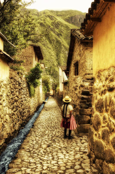 Yellow Brick Road Wall Art - Photograph - Peruvian Streets by Stuart Deacon