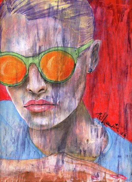 Wall Art - Painting - Peta by PJ Lewis