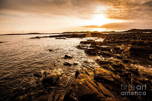 Oceanic Photograph - Petal Point Ocean Sunrise by Jorgo Photography - Wall Art Gallery