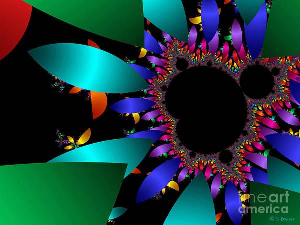 Digital Art - Petal Power by Sandra Bauser Digital Art