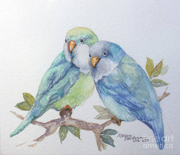 Painting - Pete And Repete by Marcia Baldwin