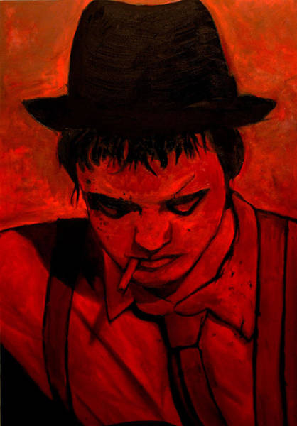 Rockstar Painting - Pete Doherty  by Anthony Jensen