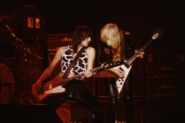 Photograph - Pete Way And Michael Schenker by Rich Fuscia