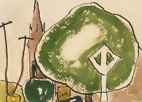Wall Art - Painting - Peter' by Arthur Garfield Dove