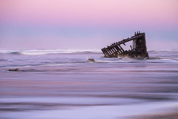 Photograph - Peter Iredale At Dawn by Robert Potts