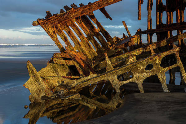 Photograph - Peter Iredale Rust by Robert Potts