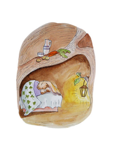 Painting - Peter Rabbit  by Irina Sztukowski