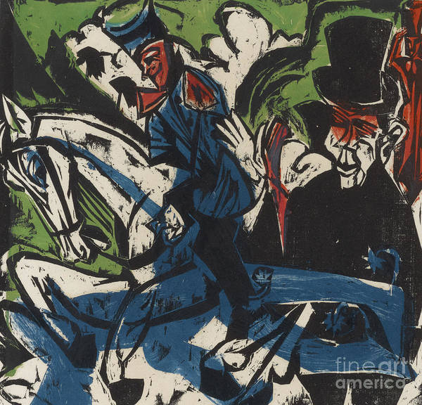 Wall Art - Painting - Peter Schlemihl by Ernst Ludwig Kirchner
