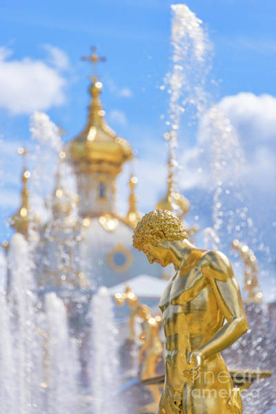 Wall Art - Photograph - Peterhof by Delphimages Photo Creations