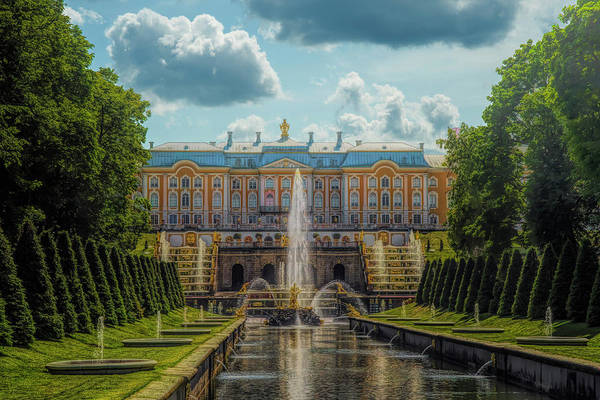 Photograph - Peterhof Palace by Mick Burkey