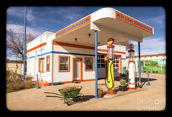 Photograph - Pete's Gas Station by Imagery by Charly