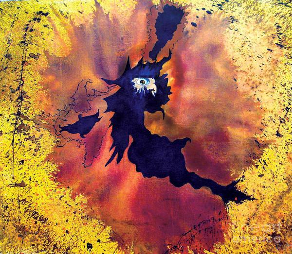 Eyeballs Painting - Pete's Speed Of Light by Albert Puskaric
