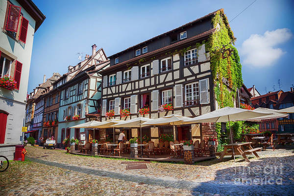 Photograph - Petit-france - Part Of Old Town, Strasbourg,  France, July 2014 by Ariadna De Raadt