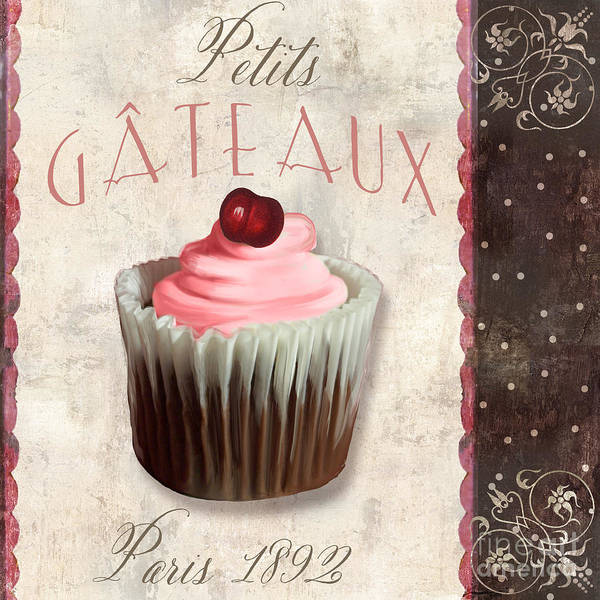 Icing Painting - Petits Gateaux Chocolat Patisserie by Mindy Sommers