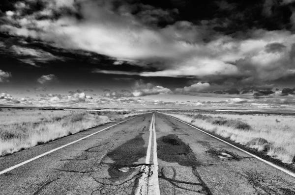Photograph - Petrified Forest National Park Road by Kyle Hanson