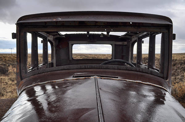 Photograph - Petrified Forest Route 66 by Kyle Hanson