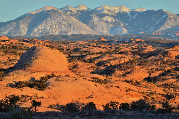 Photograph - Petrified Sand Dunes Of Arches Np by Ray Mathis
