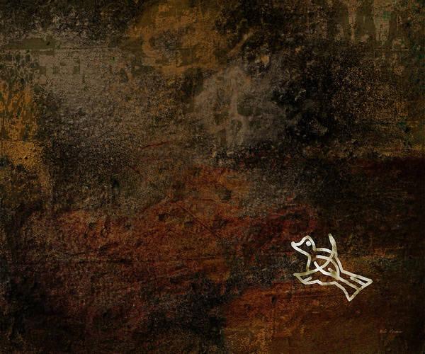 Petroglyphs Digital Art - Petroglyph 5 by Bibi Rojas