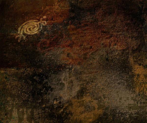Petroglyphs Digital Art - Petroglyph 6 by Bibi Rojas
