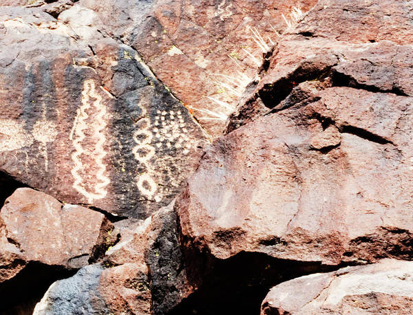 Wall Art - Photograph - Petroglyph Canyon 1 by Jessica Levant